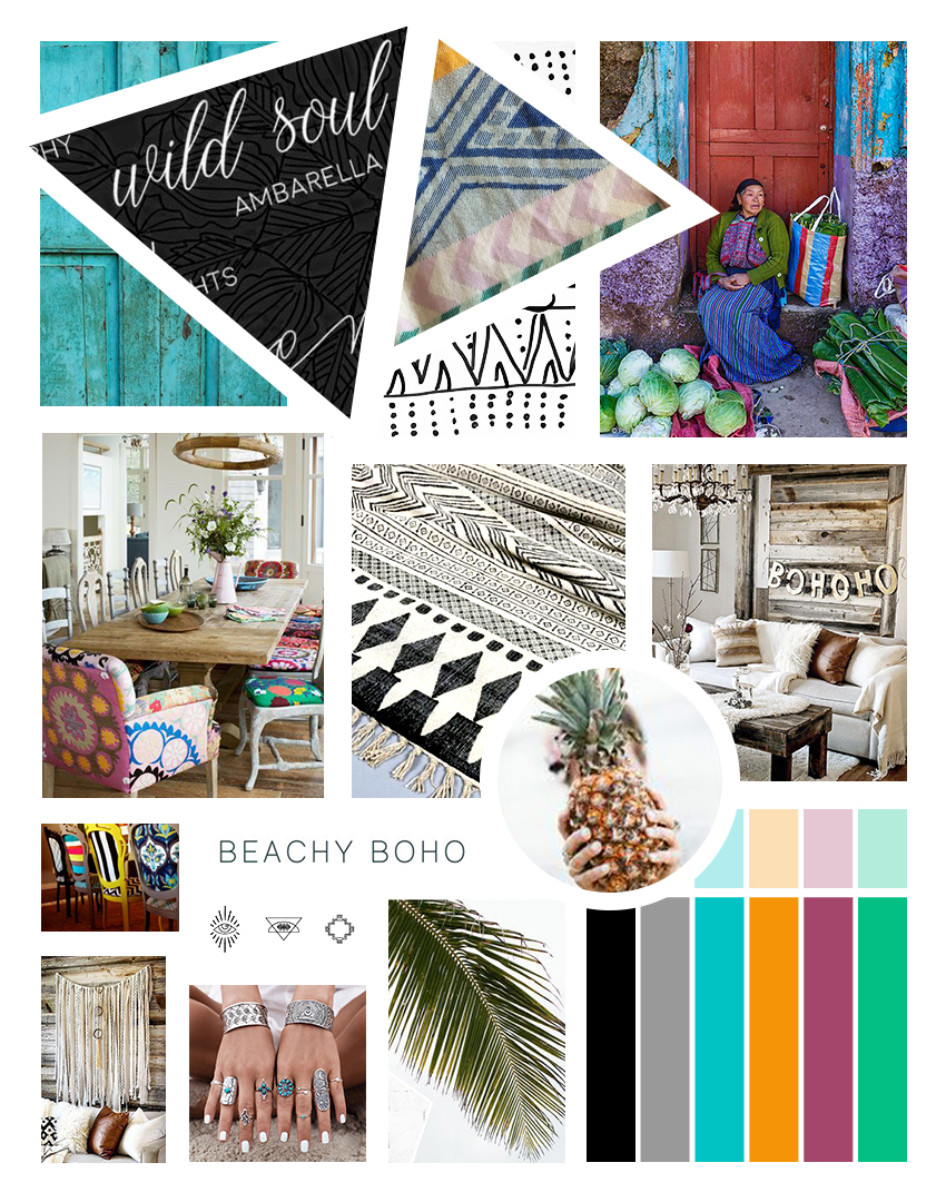 Chasing Sacred Mood Board | Designed by Whipped Dream