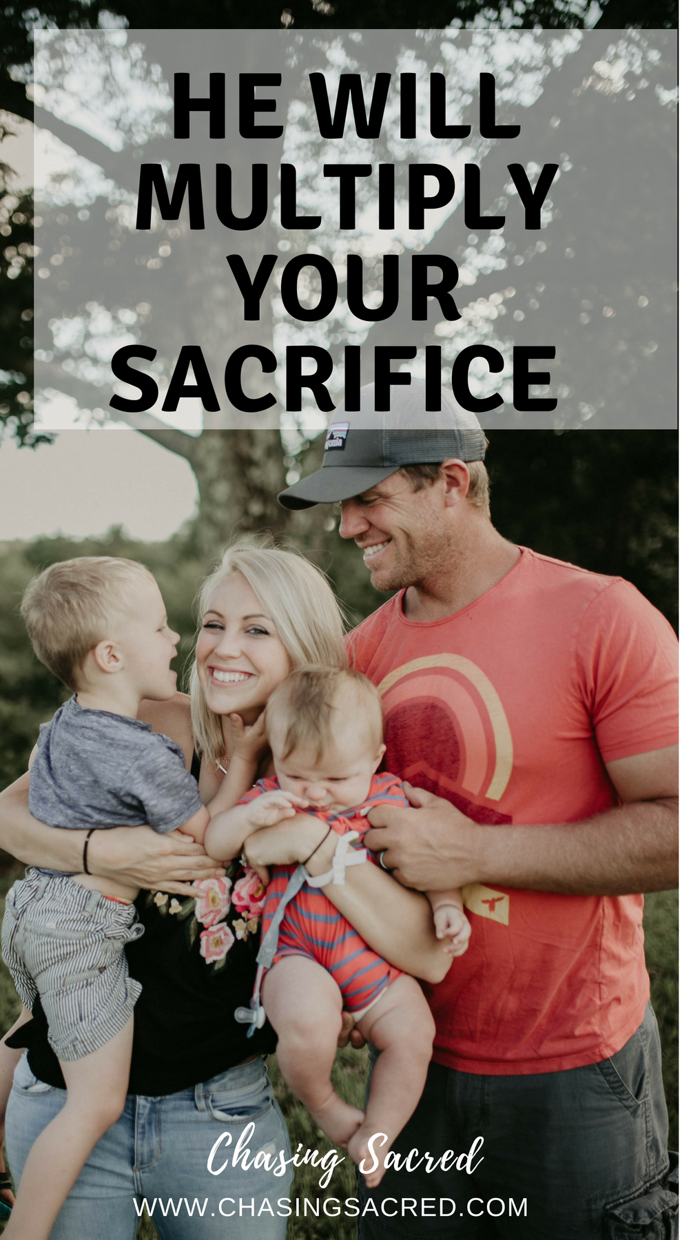 He will multiply your sacrifice | Chasing Sacred