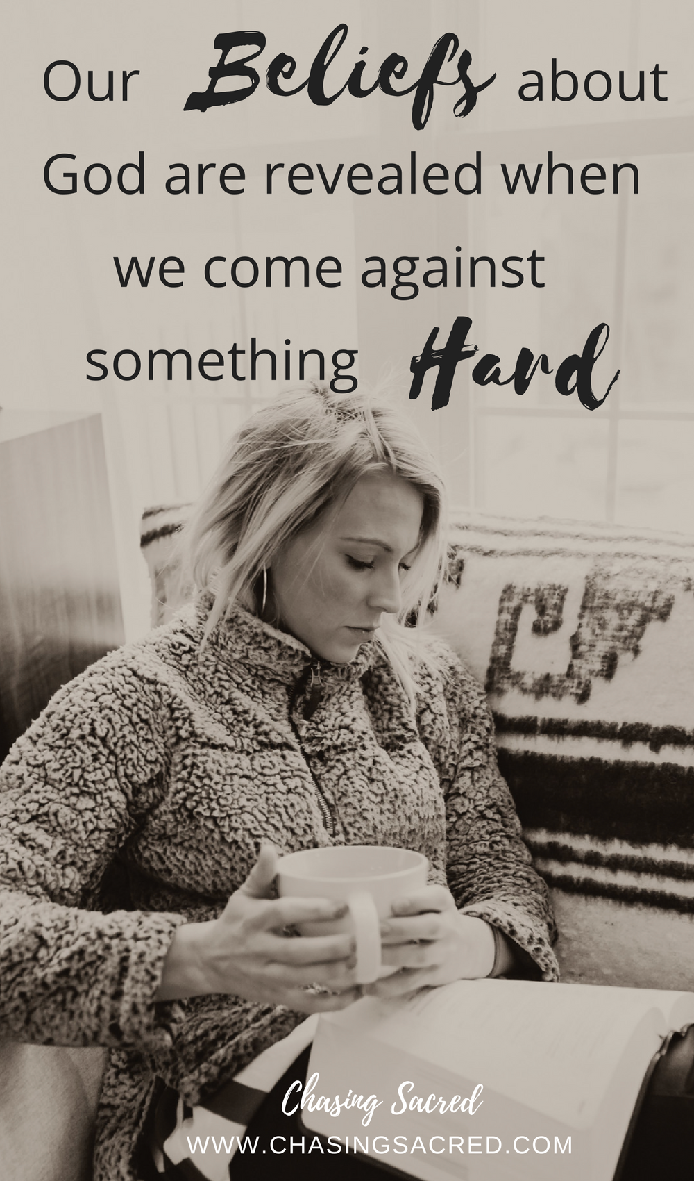 Our beliefs about God are revealed when we come against something hard