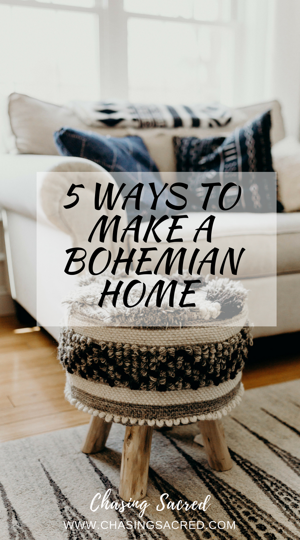 5 ways to make a bohemian home